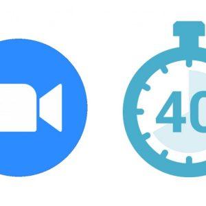 Zoom ridică limita de 40 de minute de sărbători