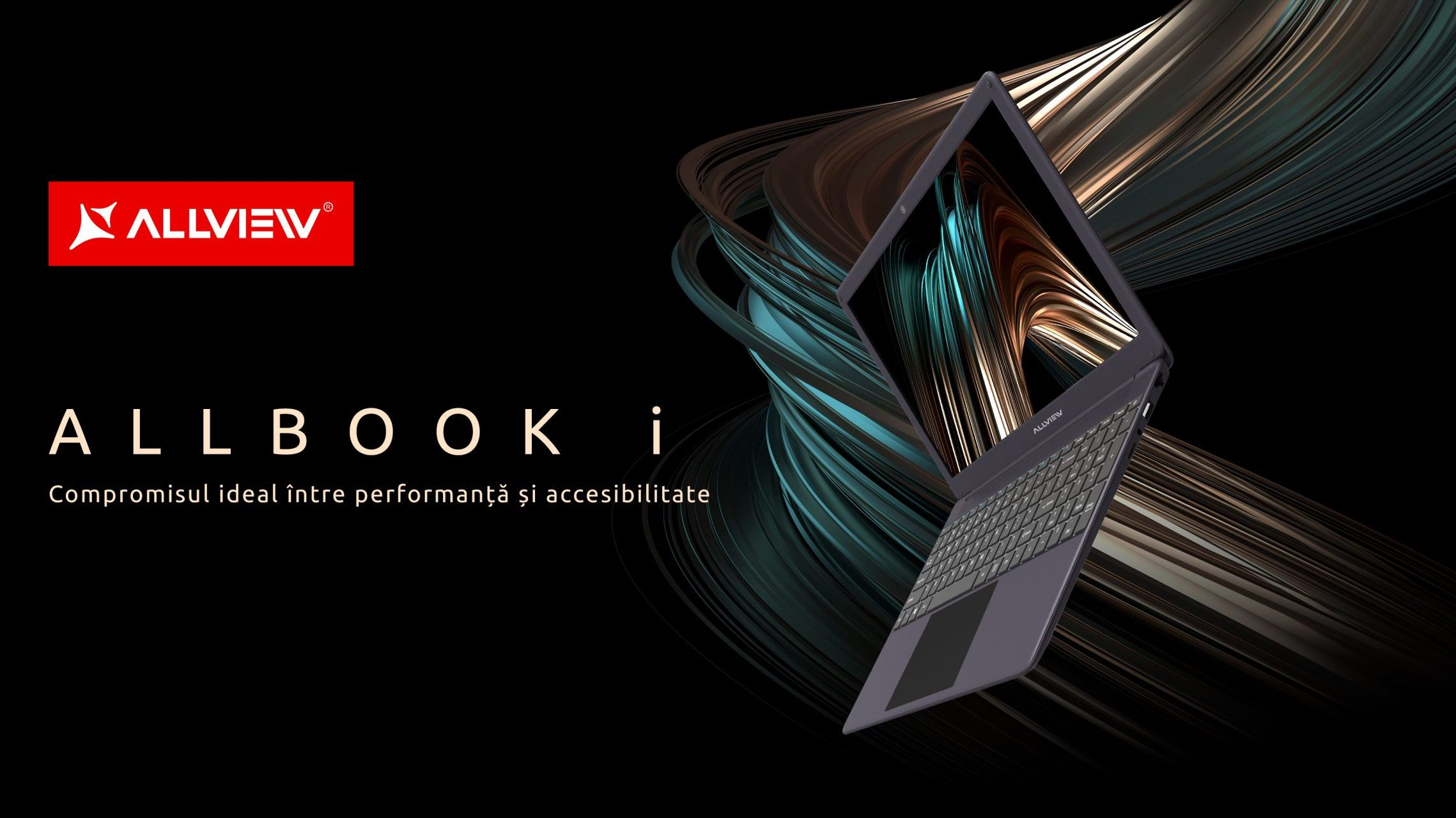 Allview lansează laptopul Allbook i