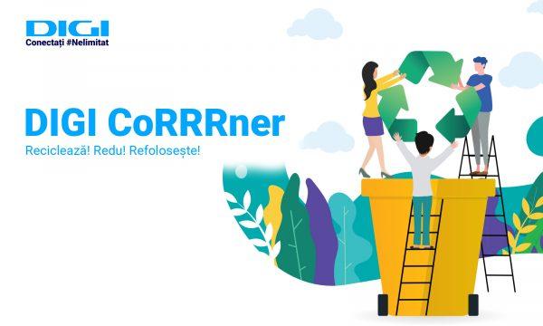 Digi CoRRRner: noul spațiu pentru colectarea deșeurilor