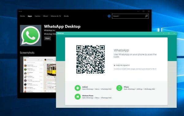 Adds biometric authentication on WhatsApp desktop