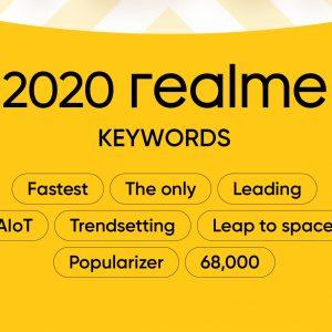 realme încheie cu succes anul 2020