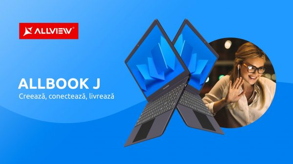 Allview lansează laptopul Allbook J