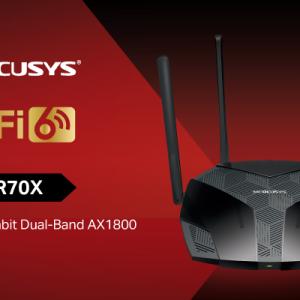 Mercusy lansează noul routerul Wi-Fi 6 MR70X