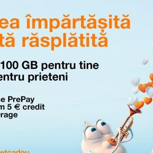 Campanie Orange Prepay în luna îndrăgostiților