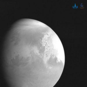 Prima imagine a planetei Marte trimisă de sonda chineză