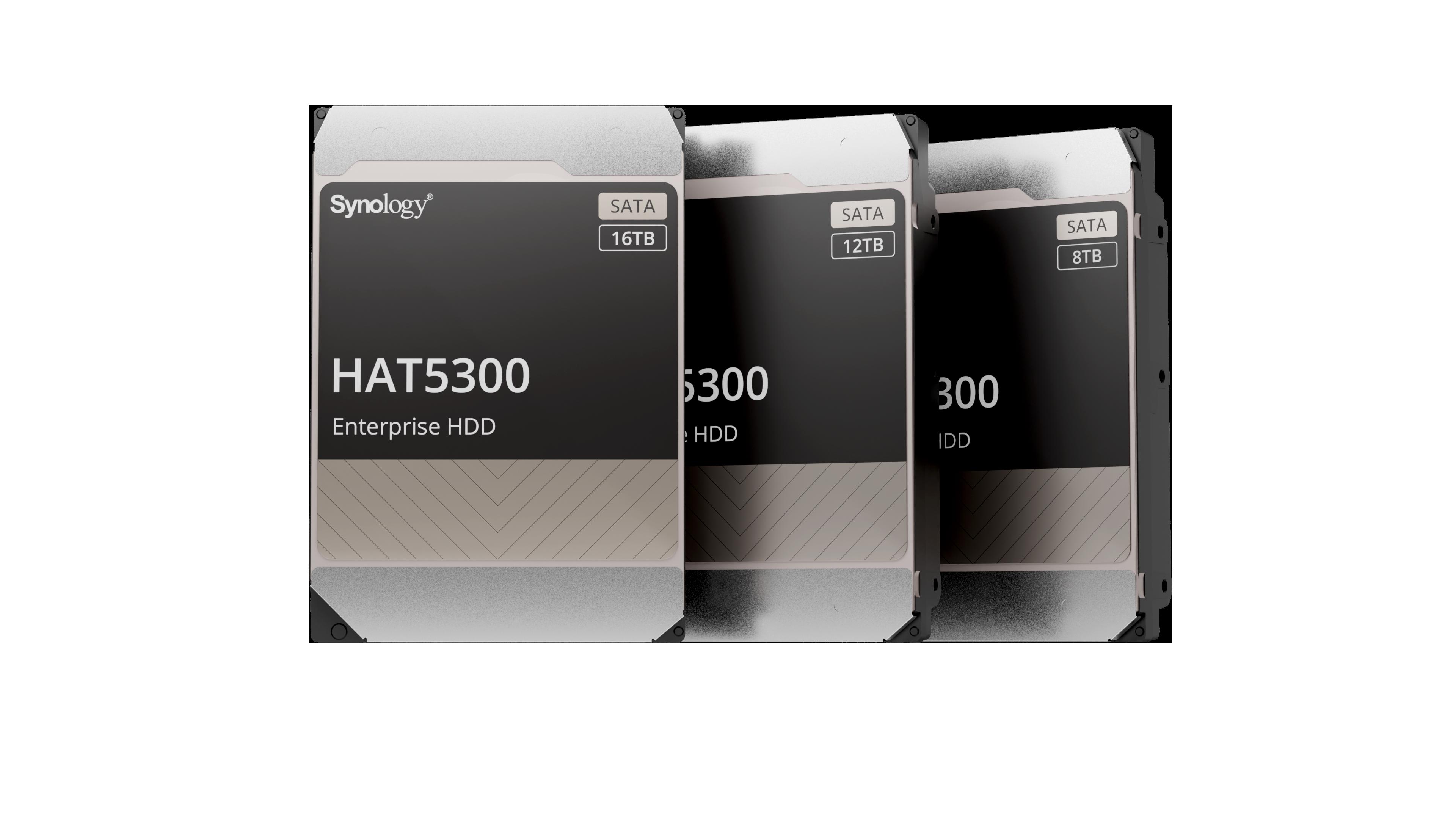 Synology intră pe piața de HDD-uri cu Synology HAT5300