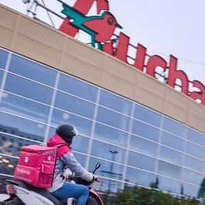 Auchan și foodpanda extind parteneriatul pentru livrări