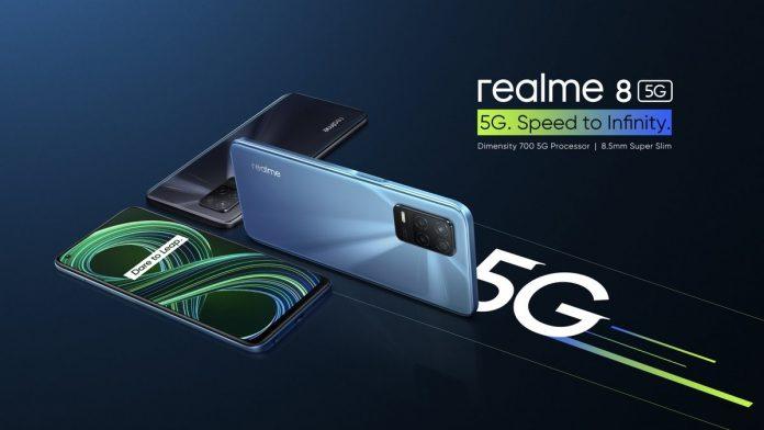 Realme 8 5G va fi disponibil și în Europa