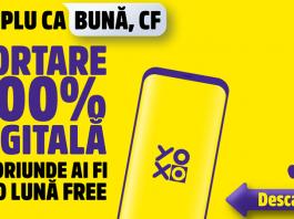 YOXO anunță portarea 100% digitală