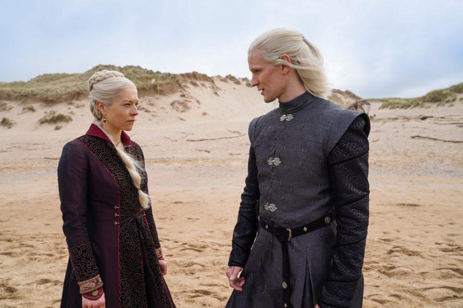 Daemon Targaryen și Rhaenyra Targaryen