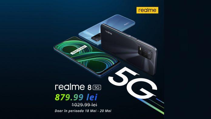 realme 8 5G Flash Sale: Ofertă valabilă doar 72 de ore