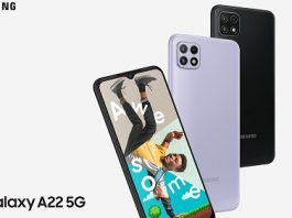 Samsung lansează smartphone-ul Samsung Galaxy A22