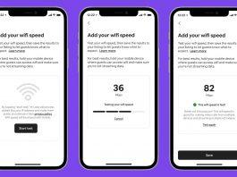 Airbnb va afișa viteza rețelei wireless