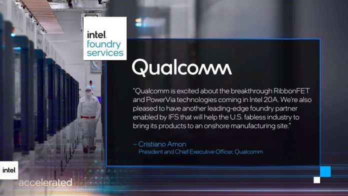Intel va produce procesoare pentru Qualcomm