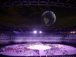 Jocurile Olimpice Tokyo: 1800 de drone lansate la ceremonia de deschidere