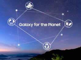 Samsung lansează Galaxy for the Planet