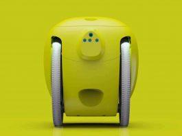 Rucsacul robotizat Gitamini își poate recunoaște proprietarul