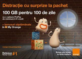 bonusuri surpriză Orange PrePay