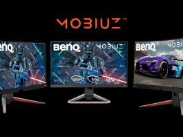 BenQ anunță noile monitoare MOBIUZ