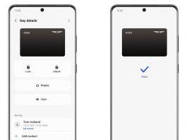 Telefonul tău Samsung devine cheie digitală