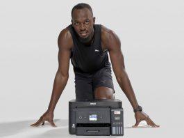 Usain Bolt este noua imagine Epson