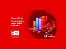 Vodafone Supernet Fibră asigura cea mai bună experiență de utilizare a internetului fix din România