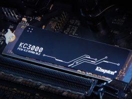 Kingston Digital lansează SSD-ul KC3000 PCIe 4.0 NVMe